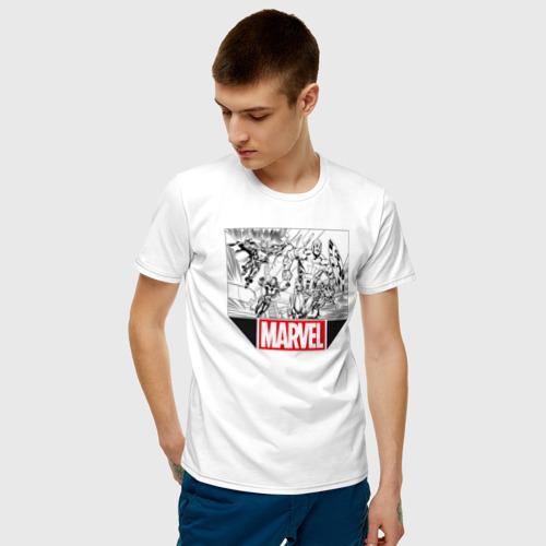 Мужская футболка хлопок AVENGERS Фото 01