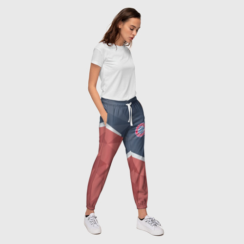 Женские брюки 3D Bayern Manchen. Фото 01