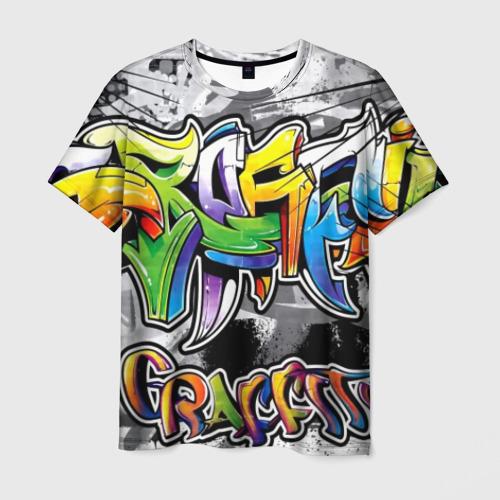 Мужская футболка 3D city street