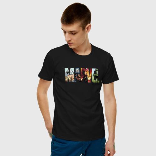 Мужская футболка хлопок Marvel Comics Фото 01