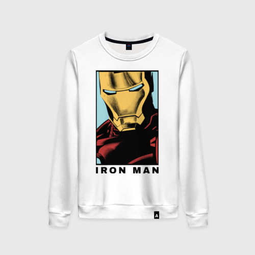 Женский свитшот хлопок Iron Man