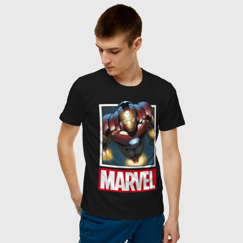 Мужская футболка хлопок  Фото 03, Iron Man
