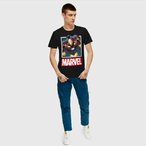 Мужская футболка хлопок  Фото 05, Iron Man