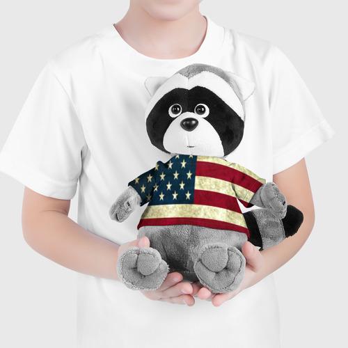 Енотик в футболке 3D usa collection 2019 Фото 01