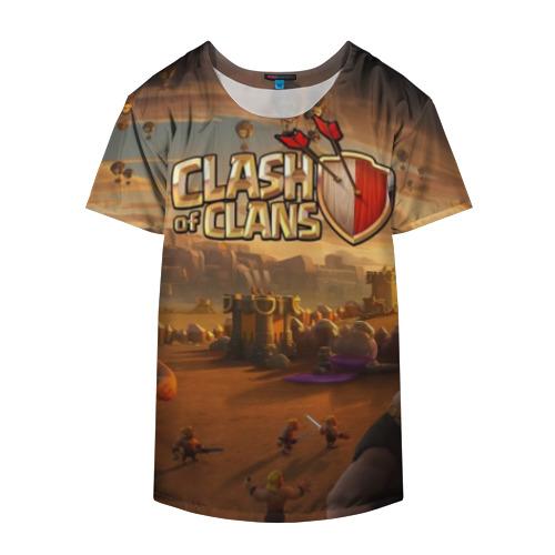Накидка на куртку 3D Clash of Clans Фото 01