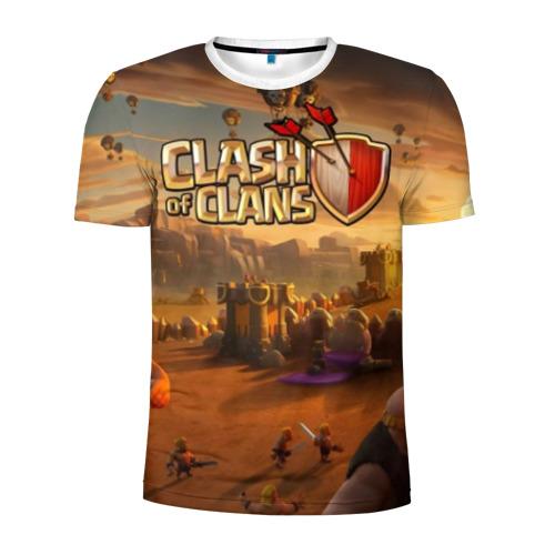 Мужская футболка 3D спортивная Clash of Clans Фото 01