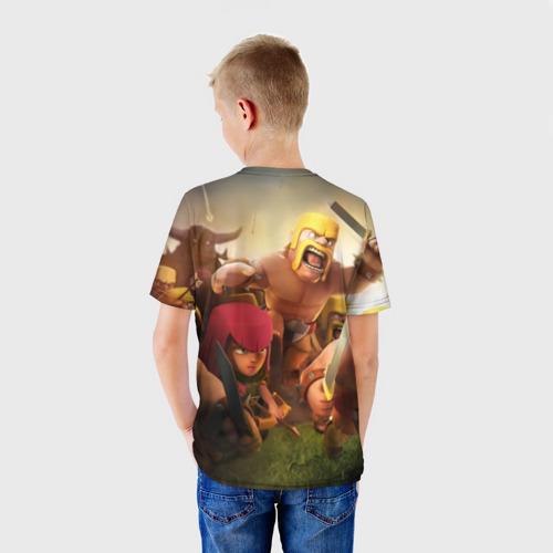 Детская футболка 3D  Фото 02, Clash of Clans
