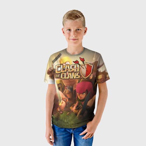 Детская футболка 3D  Фото 01, Clash of Clans