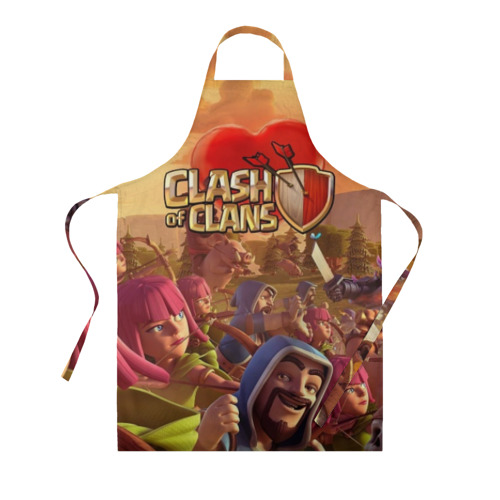 Фартук 3D Clash of Clans