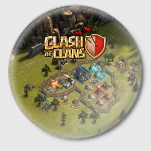 Значок Clash of Clans Фото 01