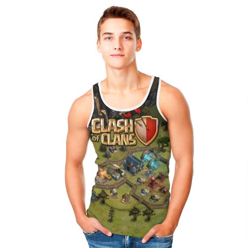 Мужская майка 3D Clash of Clans Фото 01