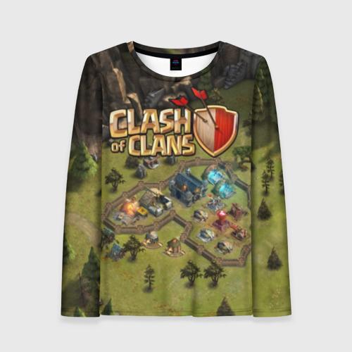 Женский лонгслив 3D Clash of Clans Фото 01