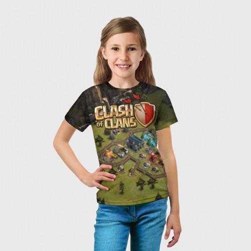 Детская футболка 3D  Фото 03, Clash of Clans