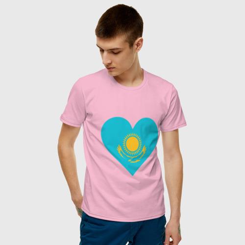 Мужская футболка хлопок Сердце Казахстана Фото 01