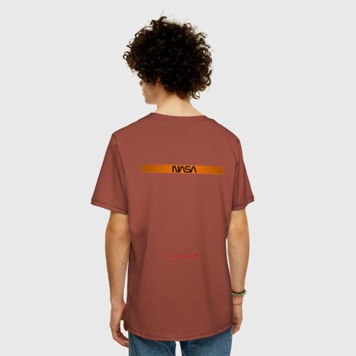 Мужская футболка хлопок Oversize NASA / НАСА Фото 01