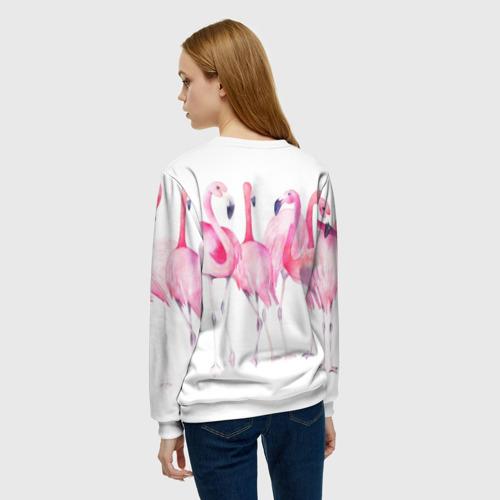 Женский свитшот 3D Фламинго Фото 01