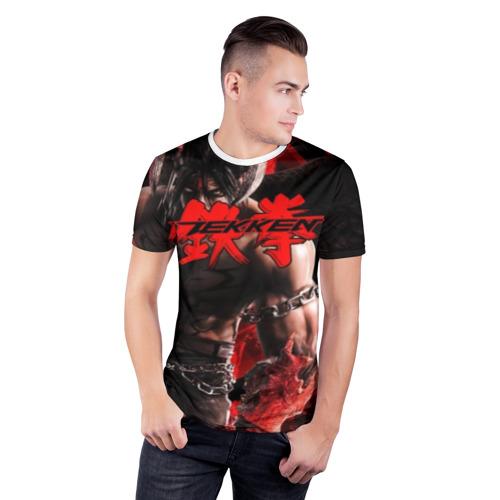 Мужская футболка 3D спортивная  Фото 03, Tekken