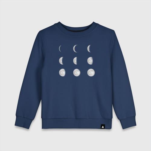 Детский свитшот хлопок Луна Фото 01