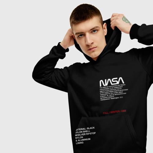 Мужская толстовка 3D NASA | НАСА Фото 01