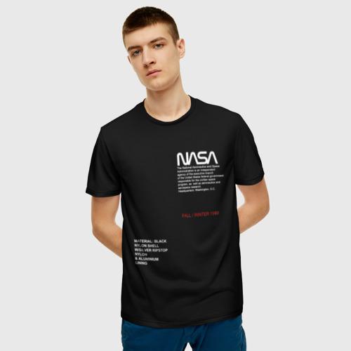 Мужская футболка 3D NASA | НАСА Фото 01