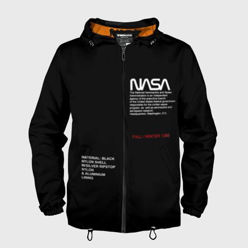 Мужская ветровка 3D NASA | НАСА Фото 01