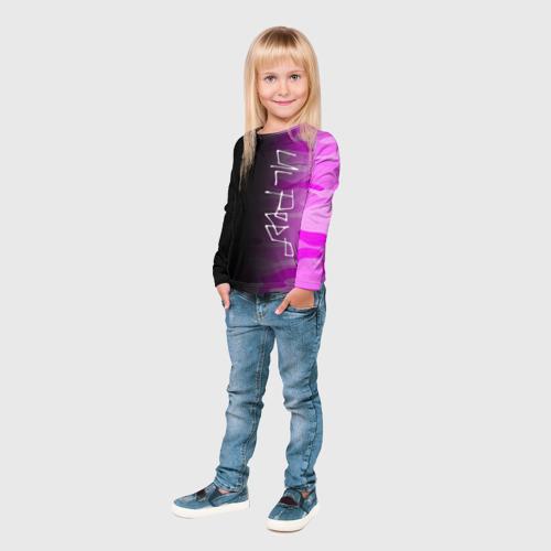 Детский лонгслив 3D LIL PEEP Фото 01