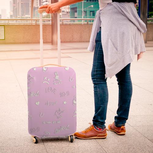 Чехол для чемодана 3D LiL PEEP Фото 01