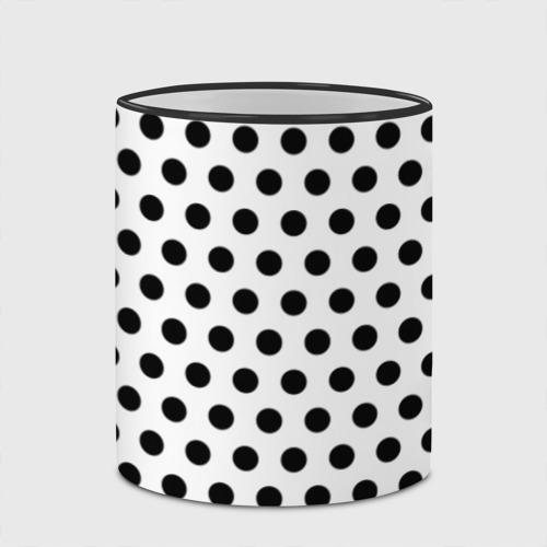 Кружка с полной запечаткой Черный горошек Фото 01