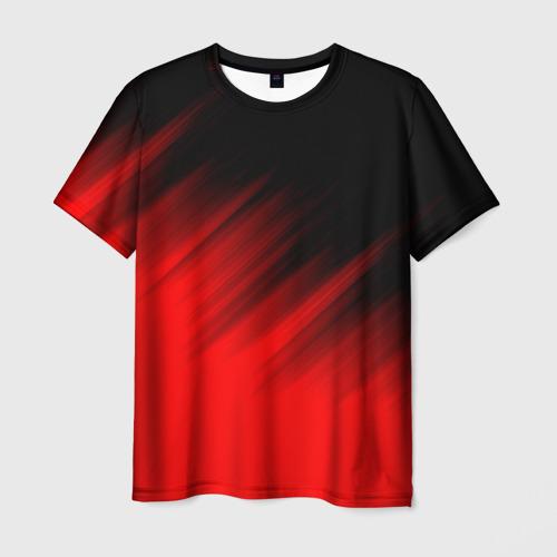 Мужская футболка 3D ПОЛОСЫ И НИЧЕГО ЛИШНЕГО Фото 01