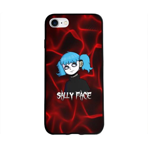 Чехол для Apple iPhone 8 силиконовый глянцевый SALLY FACE Фото 01
