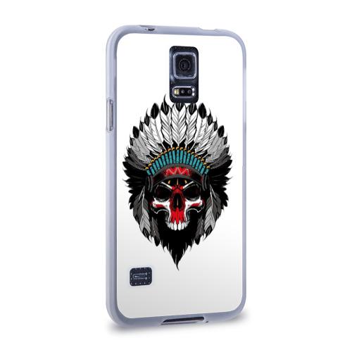 Чехол для Samsung Galaxy S5 силиконовый Вождь Фото 01