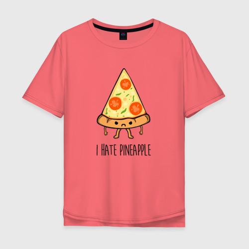 Мужская футболка хлопок Oversize I Hate Pineapple Фото 01