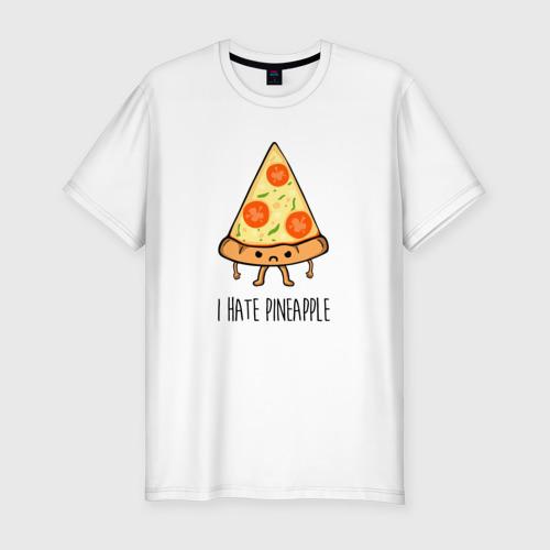 Мужская футболка премиум I Hate Pineapple Фото 01