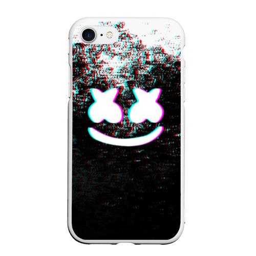 Чехол для iPhone 7/8 матовый MARSHMELLO GLITCH / МАРШМЕЛЛО НЕОН Фото 01