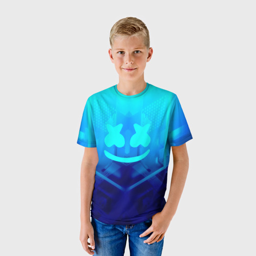 Детская футболка 3D MARSHMELLO NEON