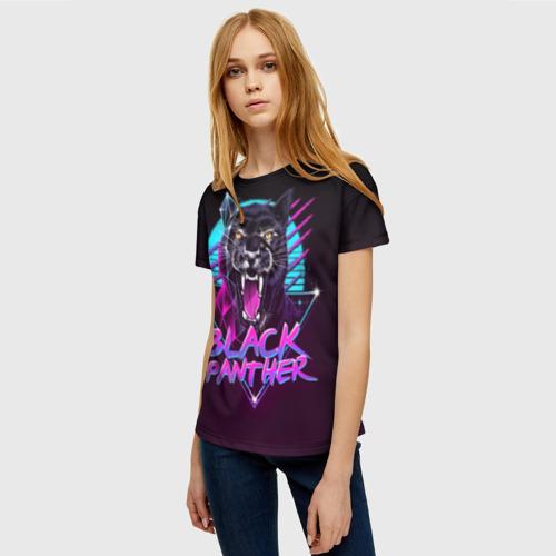 Женская футболка 3D неон Фото 01