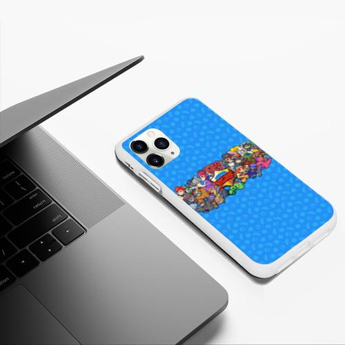 Чехол для iPhone 11 Pro Max матовый Brawl Stars  Фото 01