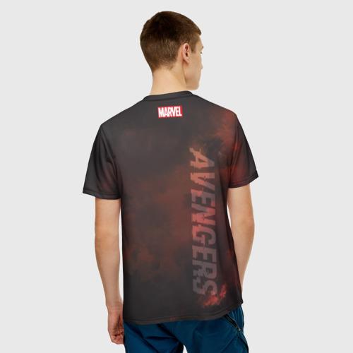 Мужская футболка 3D  Фото 02, Captain America Avengers