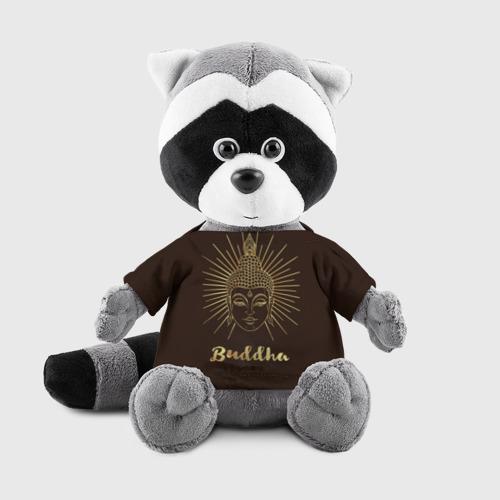 Енотик в футболке 3D Buddha Фото 01