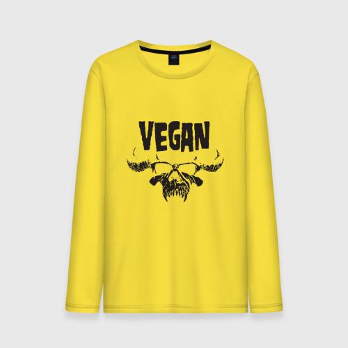 Мужской лонгслив хлопок Vegan Фото 01