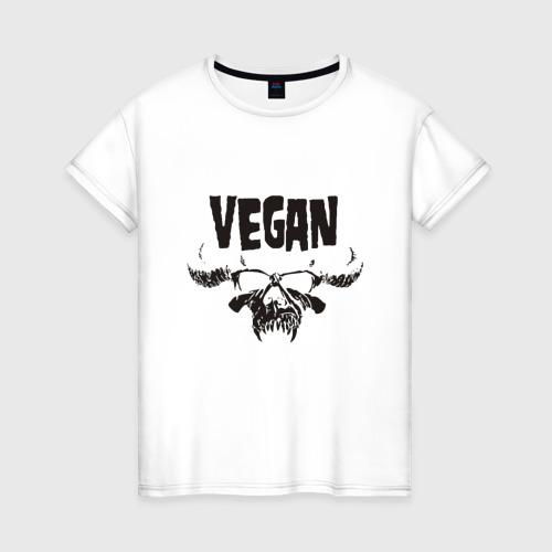 Женская футболка хлопок Vegan Фото 01