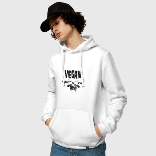 Мужская толстовка хлопок Vegan Фото 01