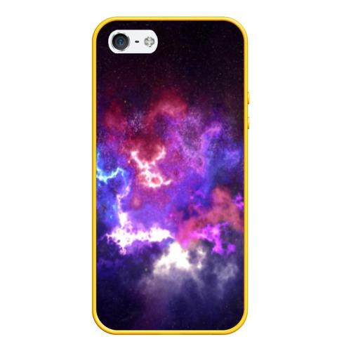 Чехол для iPhone 5/5S матовый Космос Фото 01