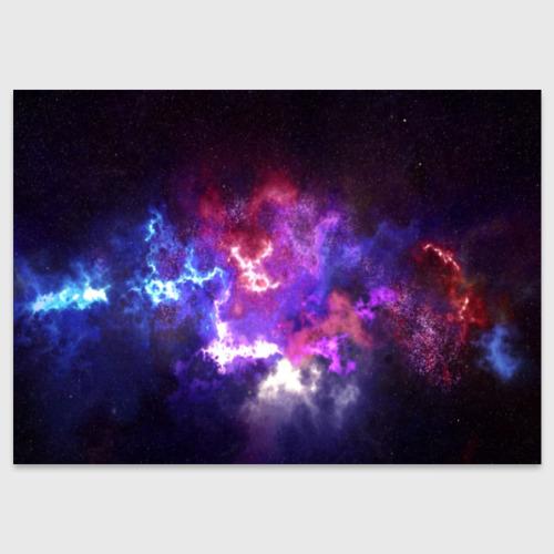 Поздравительная открытка Космос Фото 01