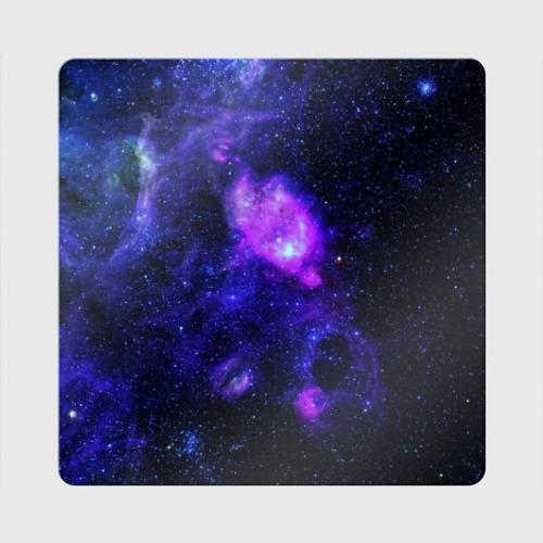Магнит виниловый Квадрат Космос Фото 01