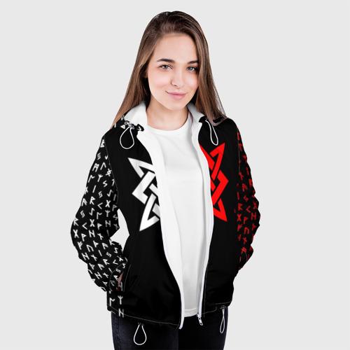 Женская куртка 3D РУСЬ - РУНЫ Фото 01