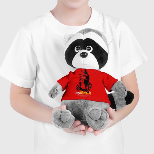 Енотик в футболке 3D Шива  Фото 01