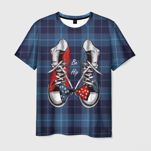 Мужская футболка 3D Be Hip Фото 01