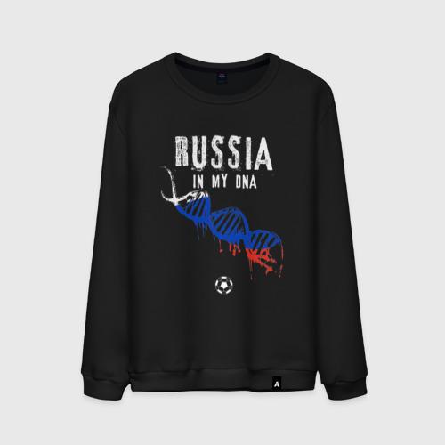 Мужской свитшот хлопок Россия в ДНК