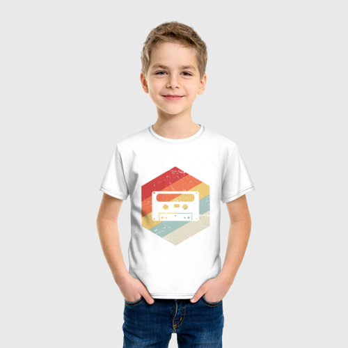 Детская футболка хлопок Кассета Фото 01